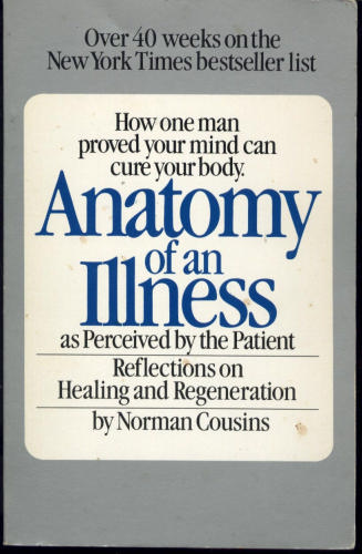Anatomy of an Illness Cover